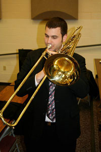 Warming up the bass trombone